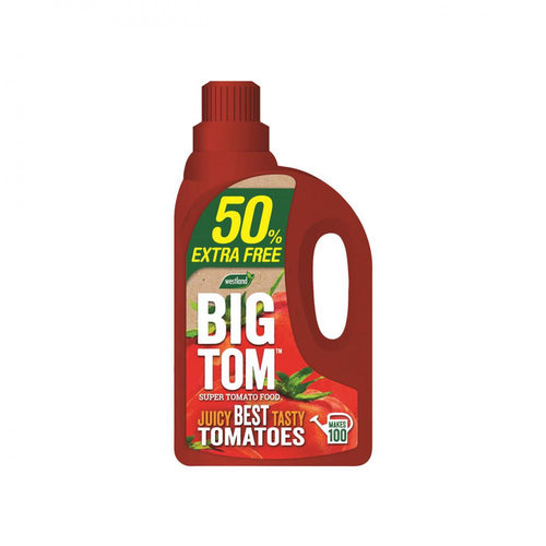Westland Big Tom Super Tomato Food - 1.25ltr + 50% Extr  At Beattys Loughrea Galway. Www.beattys.ie