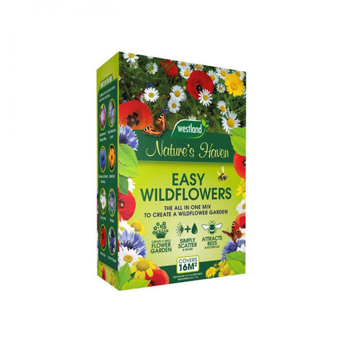 Westland Nature's Haven Easy Wildflower Seeds 4kg - Beattys of Loughrea , www.beattys.ie