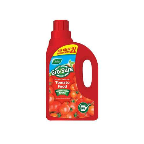 Westland Gro-Sure Tomato Food - 2 Litre  At Beattys Loughrea Galway. Www.beattys.ie