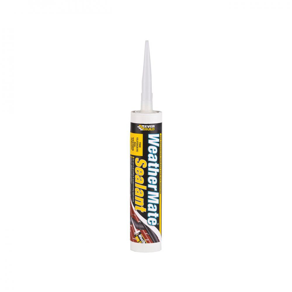Everbuild Weather Mate Sealant 310ml - Clear  At Beattys Loughrea Galway. Www.beattys.ie