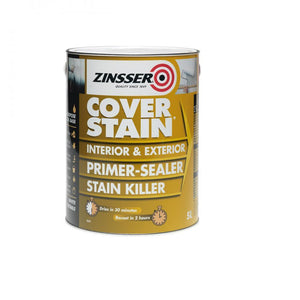 Zinsser Cover Stain Primer - 5 Litre - Beattys of Loughrea , www.beattys.ie