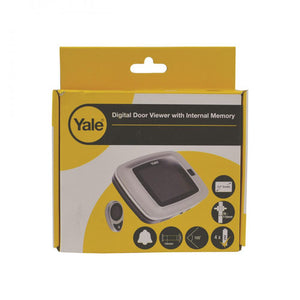 Yale Digital Recording Door Viewer  At Beattys Loughrea Galway. Www.beattys.ie