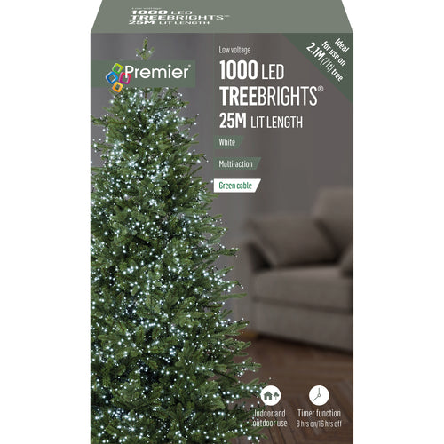 1000LED TREEBRIGHTS WHITE LIGHTS LV152008W LV162179W  At Beattys Loughrea Galway. Www.beattys.ie