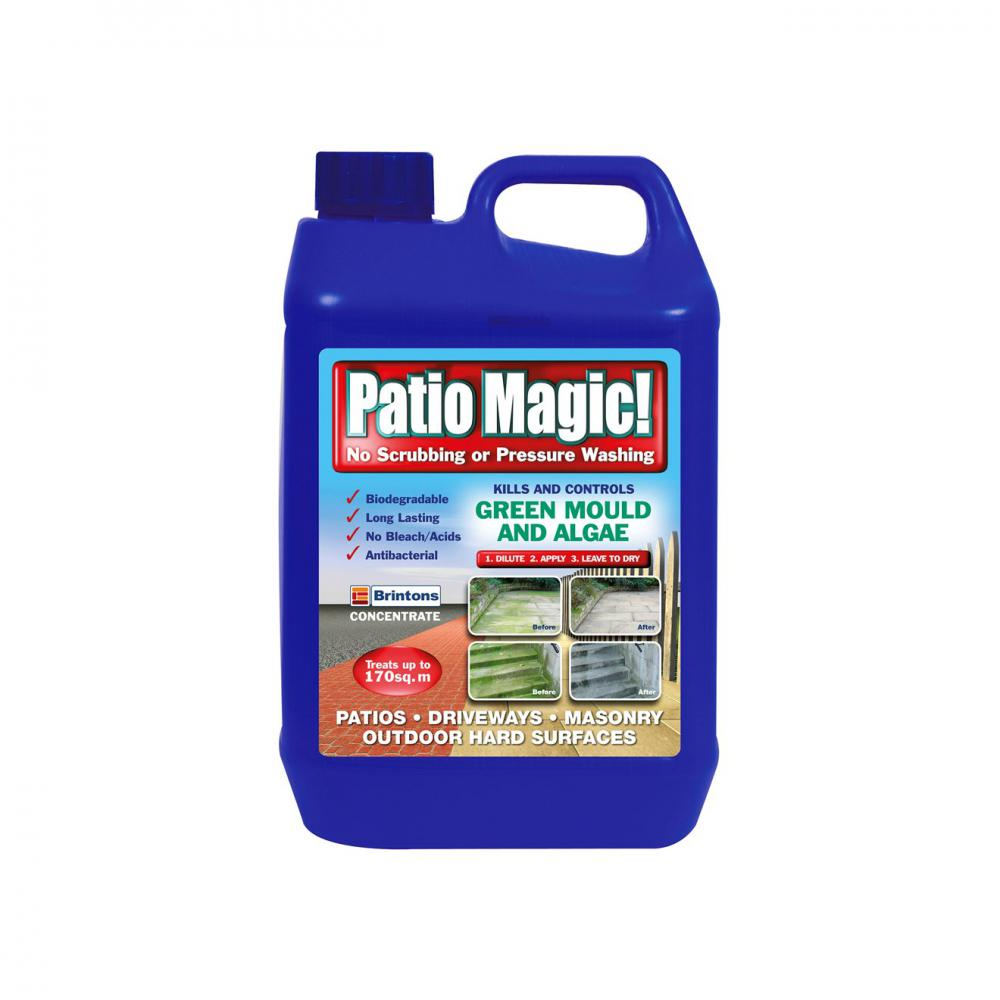 Brintons Patio Magic -  5ltr  At Beattys Loughrea Galway. Www.beattys.ie