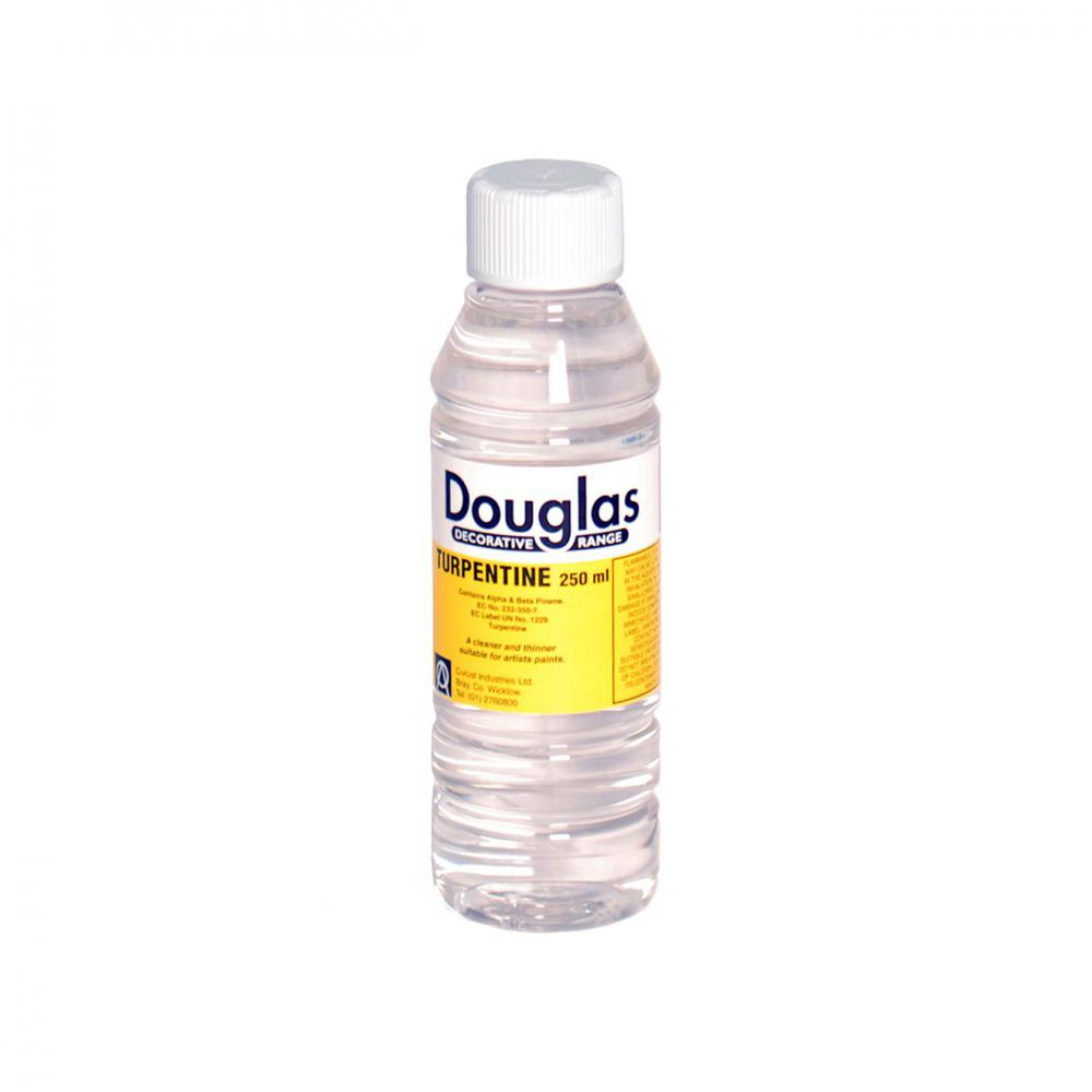 Douglas Genuine Turpentine - 250ml  At Beattys Loughrea Galway. Www.beattys.ie