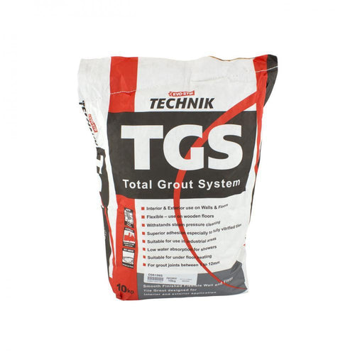 Evo-Stik Technik TGS Total Grout System 10kg - Ivory - Beattys of Loughrea , www.beattys.ie