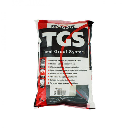 Evo-Stik Technik TGS Total Grout System 5kg - Cream - Beattys of Loughrea , www.beattys.ie