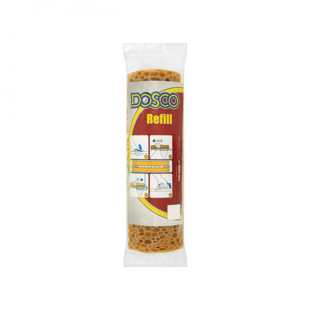 Dosco Sponge Mop Refills - 11in - Beattys of Loughrea , www.beattys.ie