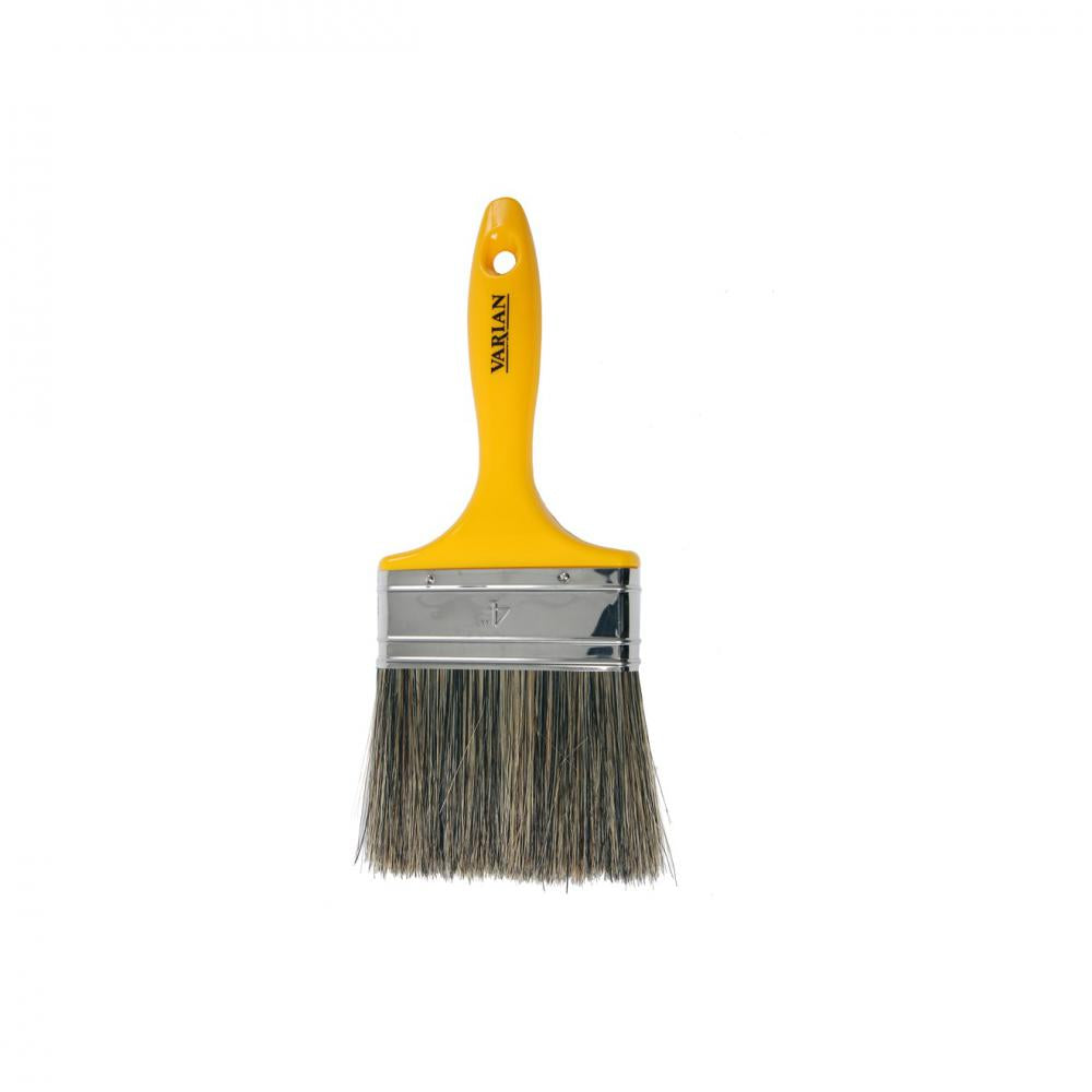 Varian Stonemaster Wall Paint Brush - 4in  At Beattys Loughrea Galway. Www.beattys.ie