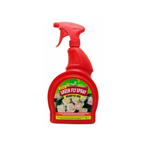 Hygeia Greenfly Spray RTU - 1 Litre  At Beattys Loughrea Galway. Www.beattys.ie