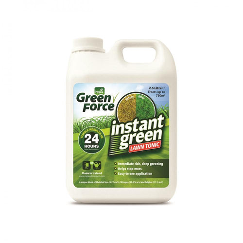 Hygeia Green Force Instant Green Lawn Tonic - 2.5ltr  At Beattys Loughrea Galway. Www.beattys.ie