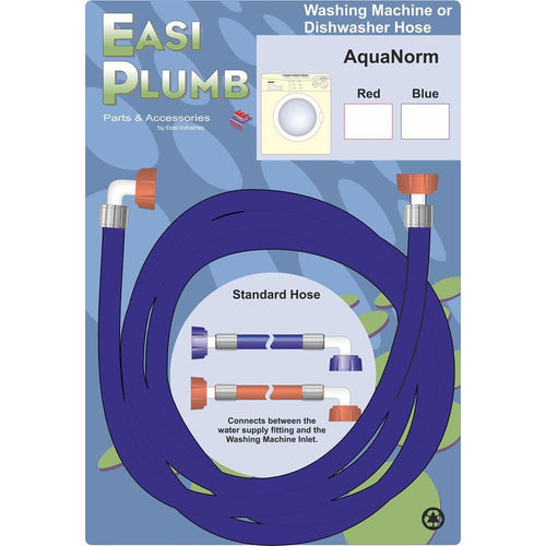1.5M AQUA NORMIN BLUE APPLIANCE HOSE EP15WMHB - Beattys of Loughrea , www.beattys.ie