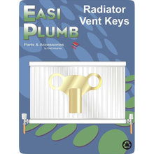 Load image into Gallery viewer, BRASS CLOCK TYPE VENT KEY EPBVK - Beattys of Loughrea , www.beattys.ie
