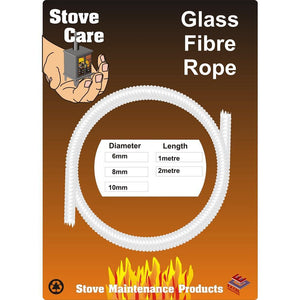STOVE CARE 2M 8MM GLASS FIBRE ROPE SC28GFR Buy Instore or online at beattys.ie