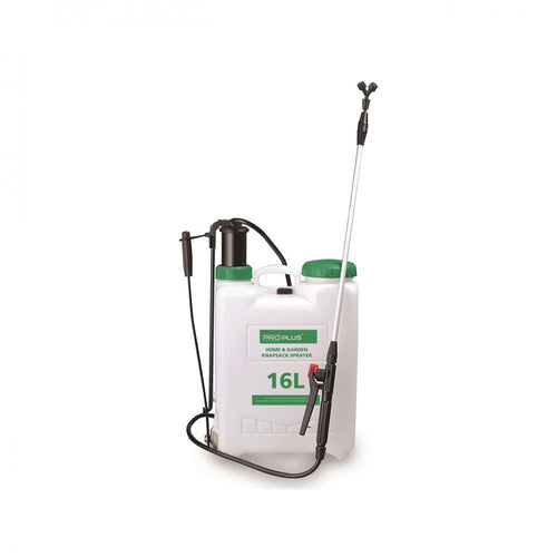 ProPlus Knapsack Sprayer - 16 Litre  At Beattys Loughrea Galway. Www.beattys.ie