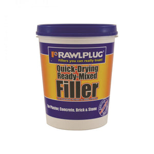 Rawlplug Quick Drying Ready Mix Filler - 1kg  At Beattys Loughrea Galway. Www.beattys.ie