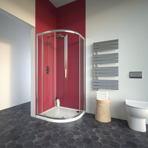 Bathroom Studio  City Plus Single Door Offset Quadrant  1000mmx800mm    BS2020  At Beattys Loughrea Galway. Www.beattys.ie