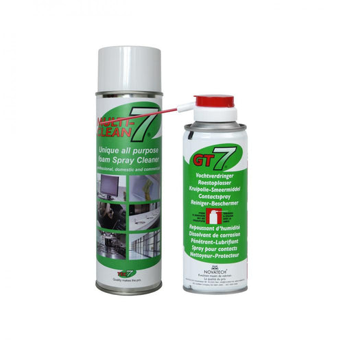 Tec 7 Multi-Clean7 Spray Cleaner & GT7 Penetrating Oil  At Beattys Loughrea Galway. Www.beattys.ie