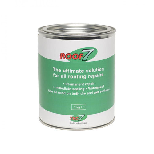 Roof 7 Roof Repair - 1kg  At Beattys Loughrea Galway. Www.beattys.ie