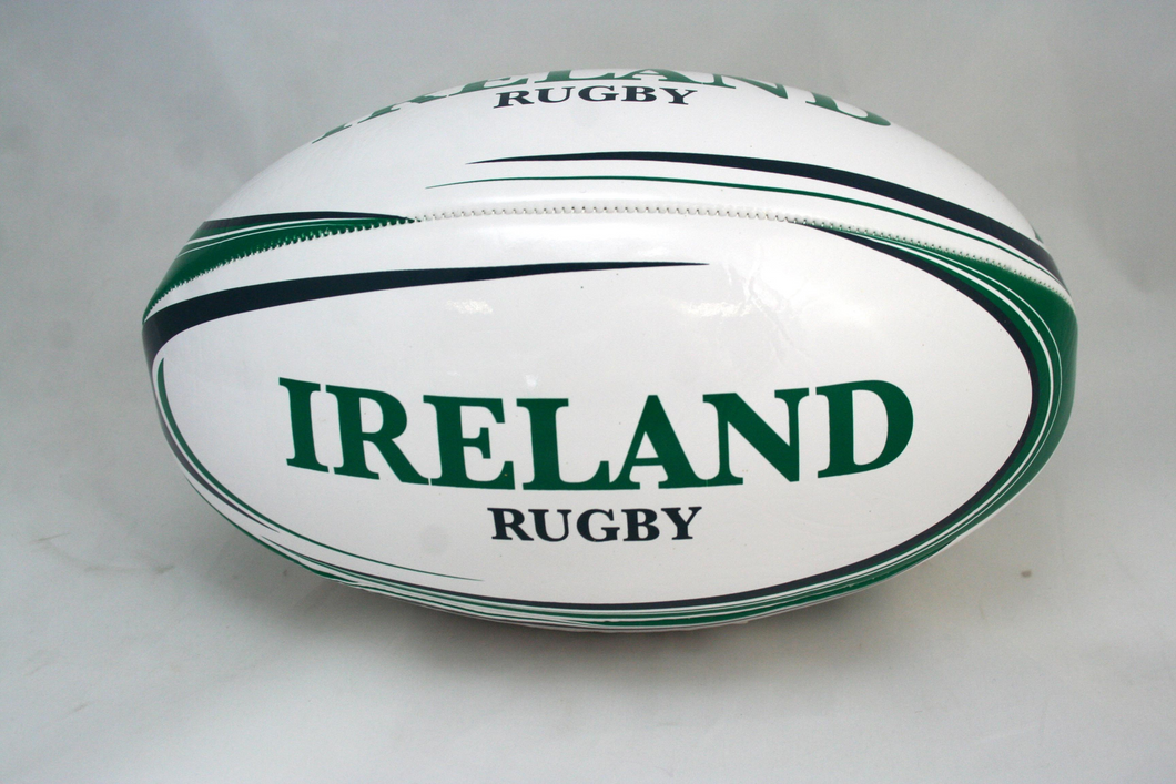 Size 4 Ireland Rugby Ball Buy Instore or online at beattys.ie