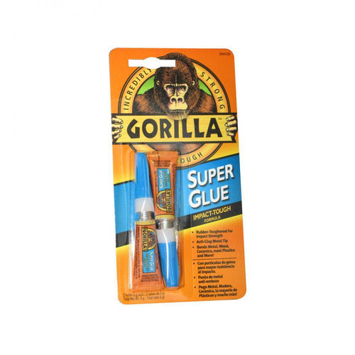 Gorilla Super Glue Twin Pack - 6g  At Beattys Loughrea Galway. Www.beattys.ie