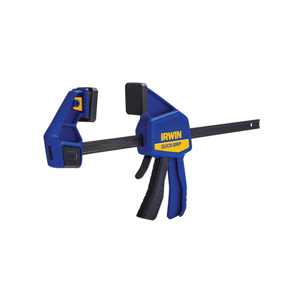 Irwin Quick-Grip Bar Clamp - 12in  At Beattys Loughrea Galway. Www.beattys.ie