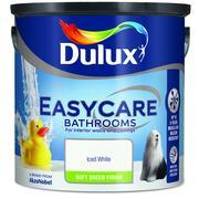 BATHROOM 2.5L ICED WHITE DULUX  At Beattys Loughrea Galway. Www.beattys.ie