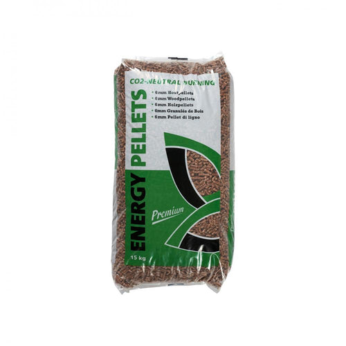 Woodflame Premium Wood Pellets - 15kg ( Bag) - Beattys of Loughrea , www.beattys.ie