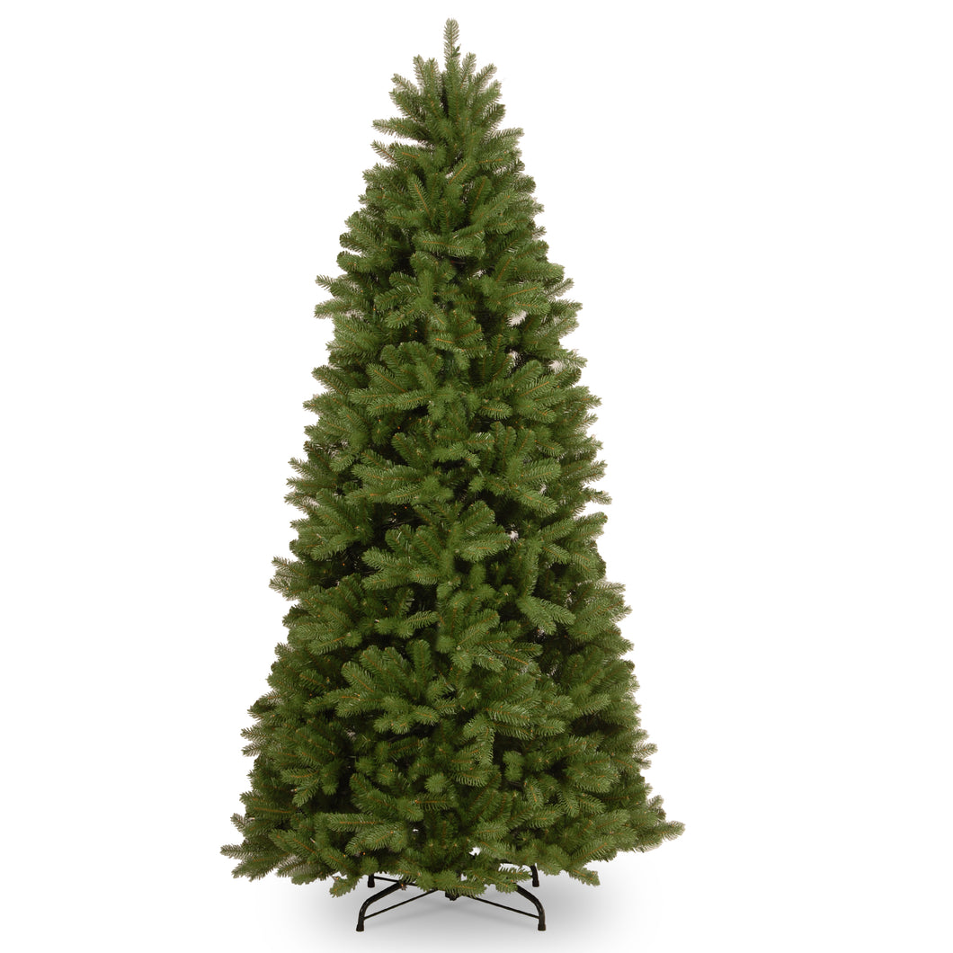 National Tree Company Newberry Spruce Feel Real Slim Tree - 7.5ft  At Beattys Loughrea Galway. Www.beattys.ie