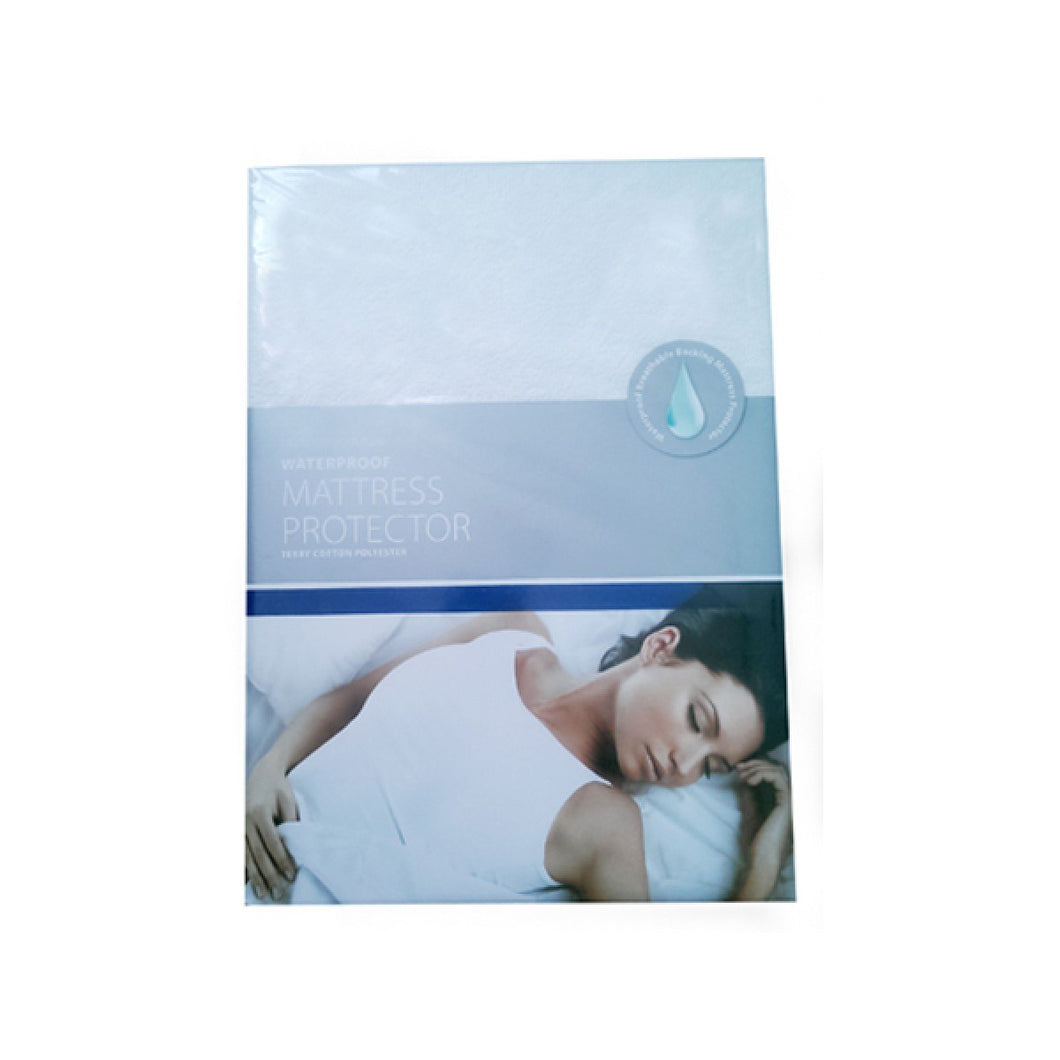 Bedroom Couture Terry Waterproof Mattress Protector Single - Beattys of Loughrea , www.beattys.ie