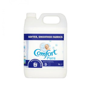 Comfort Pure Fabric Conditioner - 5ltr  At Beattys Loughrea Galway. Www.beattys.ie