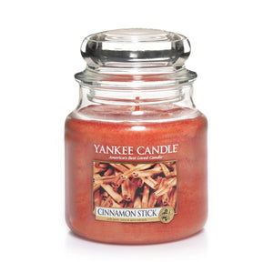 Cinnamon Stick Medium Yankee Candle 411g  At Beattys Loughrea Galway. Www.beattys.ie