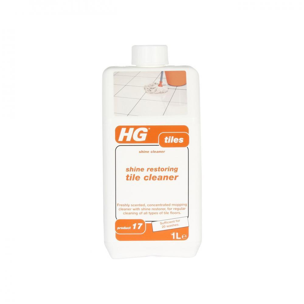 HG Shine Restoring Tile Cleaner - 1 Litre  At Beattys Loughrea Galway. Www.beattys.ie
