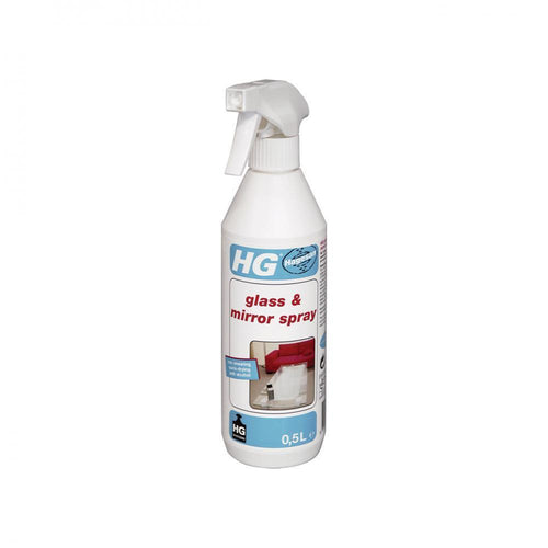 HG Glass & Mirror Cleaning Spray - 500ml - Beattys of Loughrea , www.beattys.ie