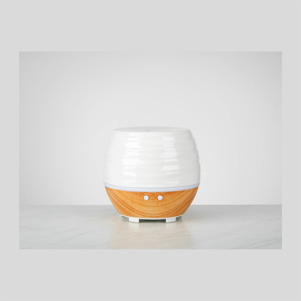 ELLIA DIFFUSER AROMA ASEND WHITE/WOOD ARM-535  Buy at Beattys Loughrea. Www.beattys.ie