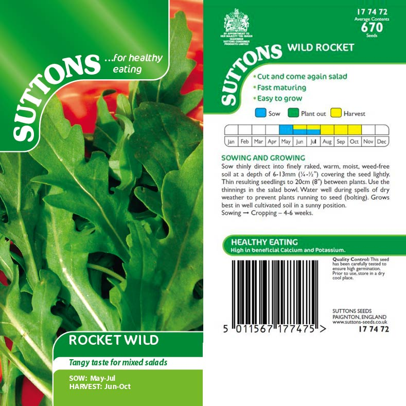 SUTTONS ROCKET WILD 177472 - Beattys of Loughrea , www.beattys.ie