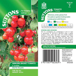 SUTTONS TOMATO F1 TUMBLER 182363 Buy Instore or online at beattys.ie