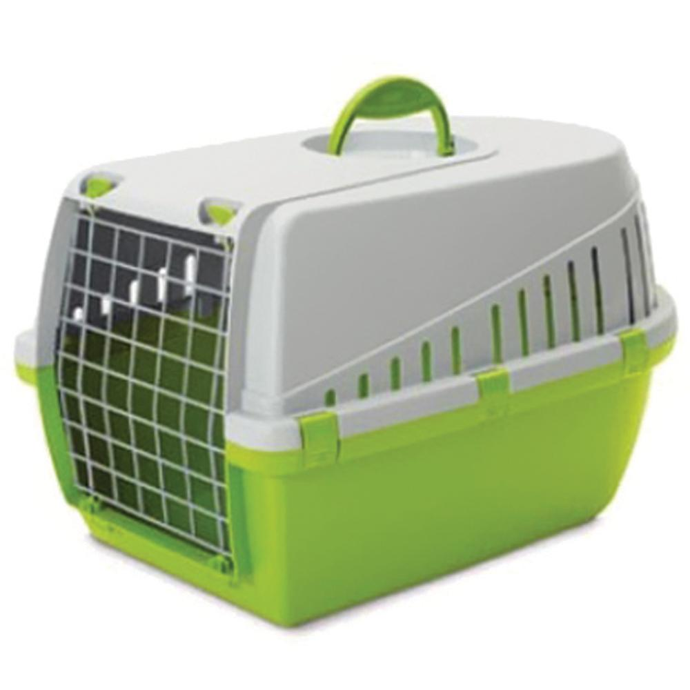 PET CARRIER LIME GREEN 49X33X30CM SV5668 TROTTER 1 - Beattys of Loughrea , www.beattys.ie