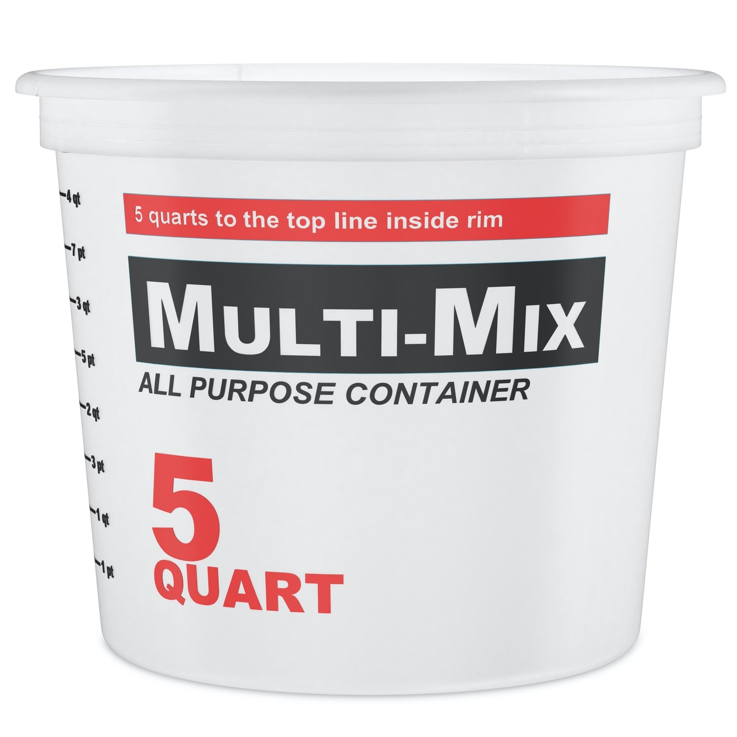 5 Quart Epoxy Mixing Container