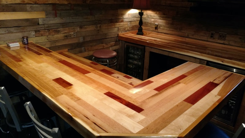 Wood Bar Top Epoxy from PrimaLoc