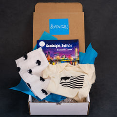 Buffalo gift box for new baby