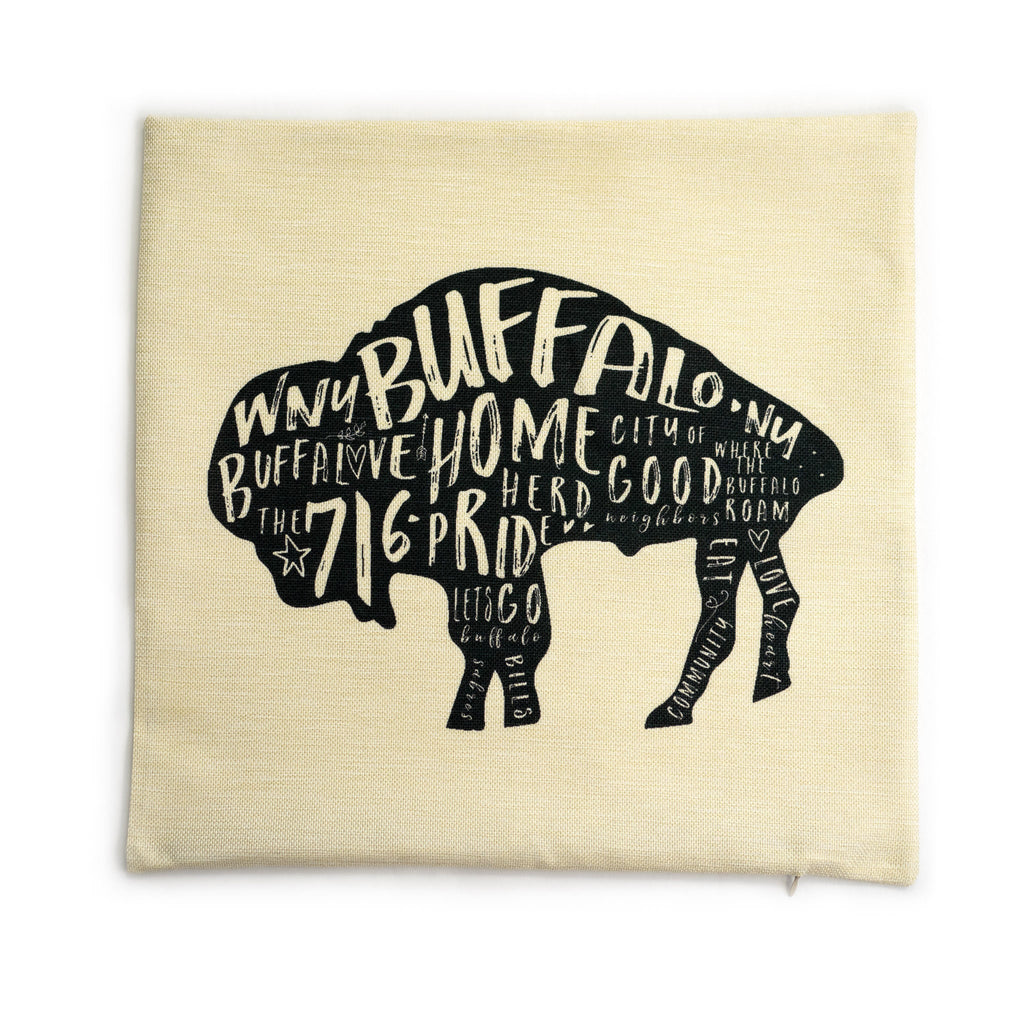 Buffalo Pillow Case (pillow not included) (Premium)
