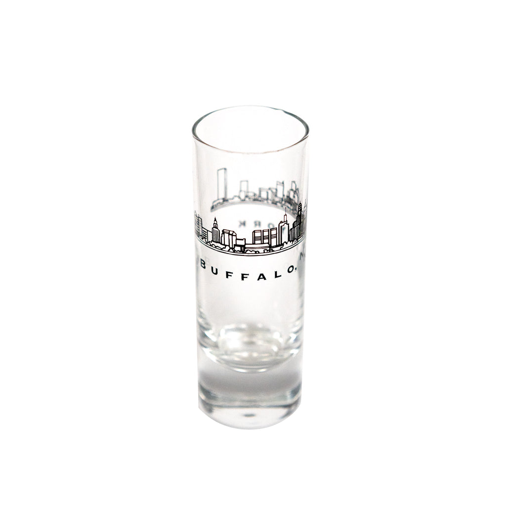 Buffalo Shooter Glass - Skyline