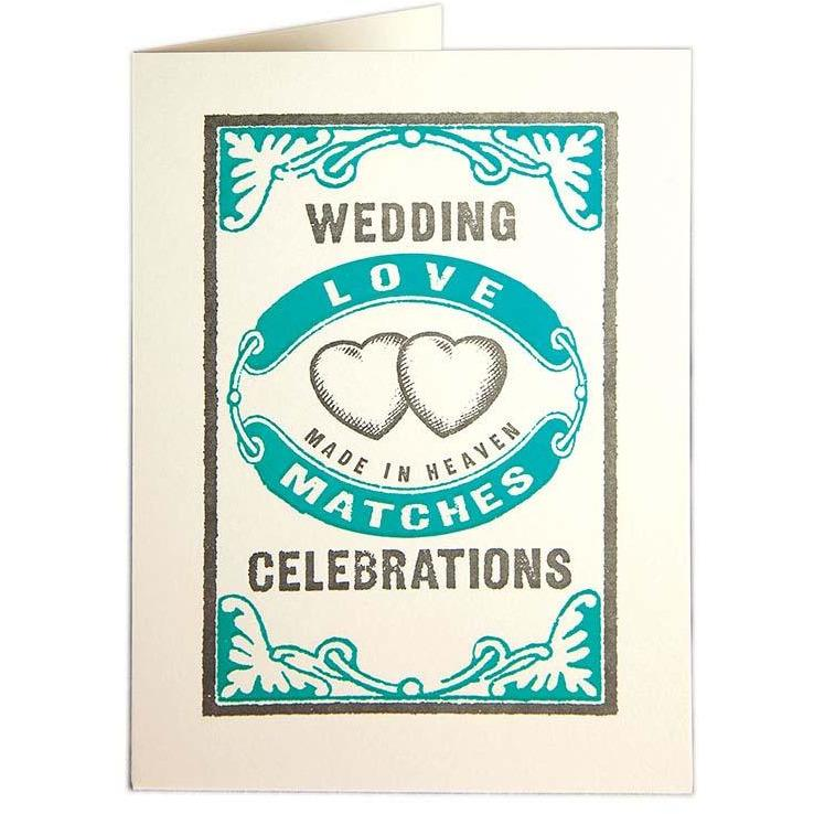 Love Match Greeting Card - Archivist Press