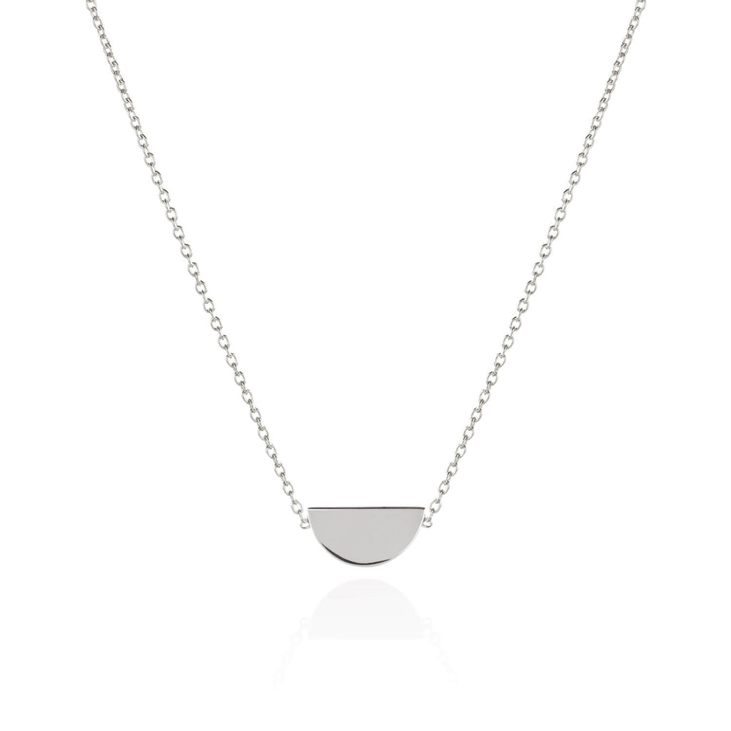 Matthew Calvin Disc Necklace - Streling Silver