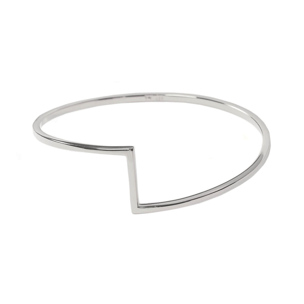 Matthew Calvin Joint Bangle Silver