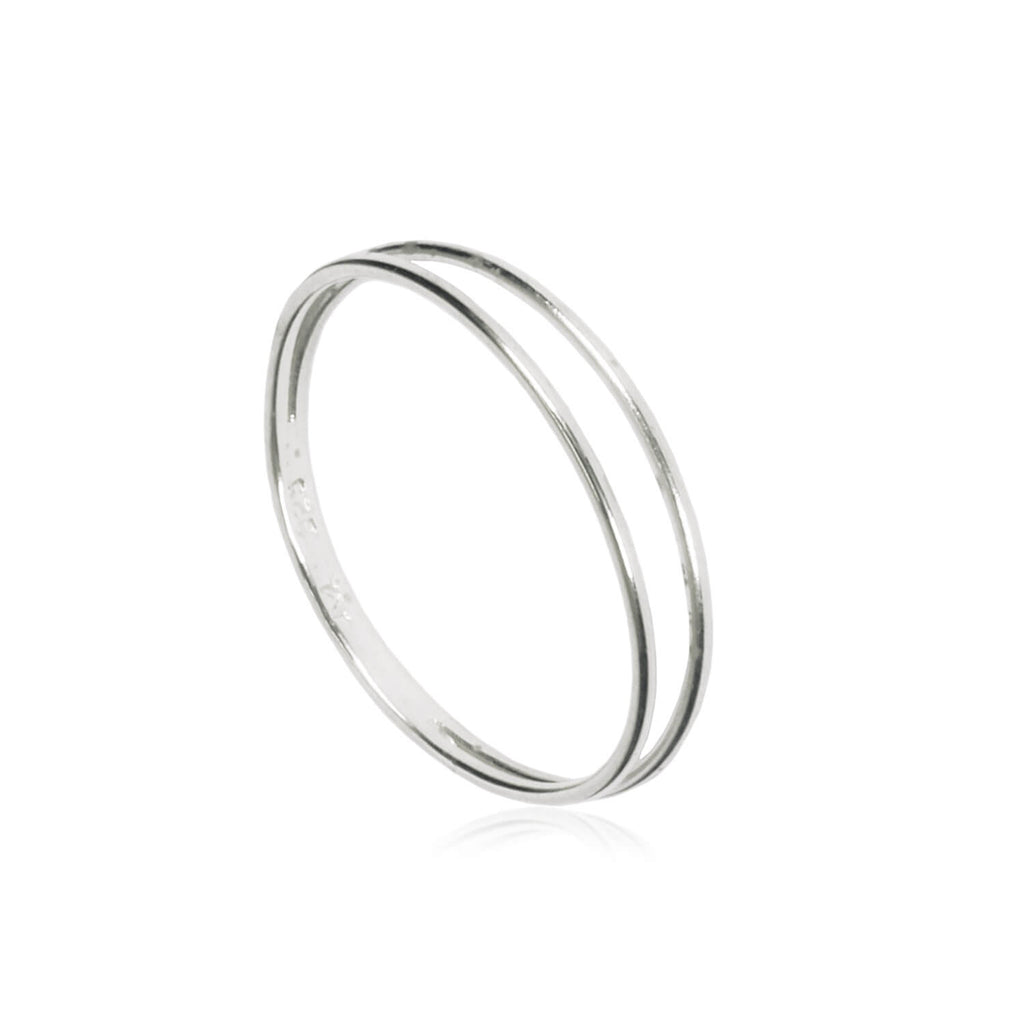 Matthew Calvin Strand Ring in Gold & Silver
