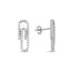 New Trend Paperclip Earring 925 Sterling Silver   Wholesale Fashionable Turkish Jewelry