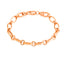 Best Price Big Link Oval Chain Gold Plated Fashionable Summer Bracelet Wholesale 925 Crt Sterling Silver   Turkish Jewelry