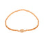 Zirconia Eye Elastic Bead Gold Plated Bracelet Wholesale 925 Crt Sterling Silver Turkish Jewelry